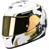SCORPION Exo-710 Air Cerberus Pearl White / Gold