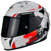 SCORPION Exo-710 Air Cerberus White / Red