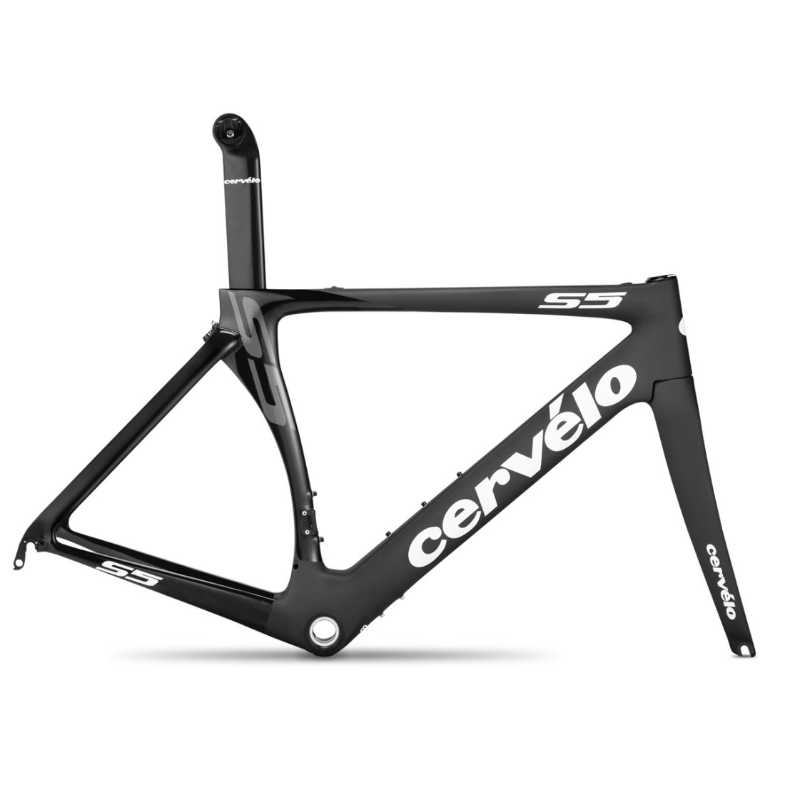 Cuadro bicicleta CERVELO S5 Black / White · Motocard