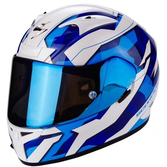 Casco SCORPION Exo-710 Air Furio Blue