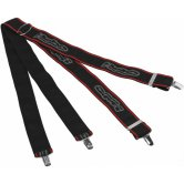 HEBO Suspenders Black