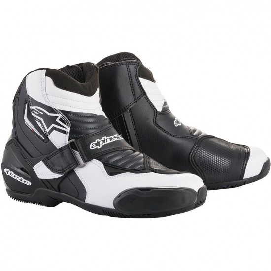 Botas ALPINESTARS SMX-1 R Black / White Graphic