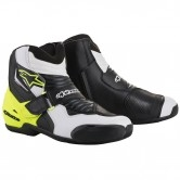 ALPINESTARS SMX-1 R Black / White / Yellow Fluo