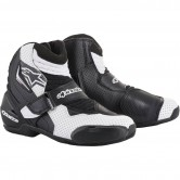 ALPINESTARS SMX-1 R Vented Black / White Graphic