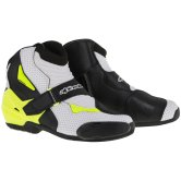 ALPINESTARS SMX-1 R Vented Black / White / Yellow Fluo