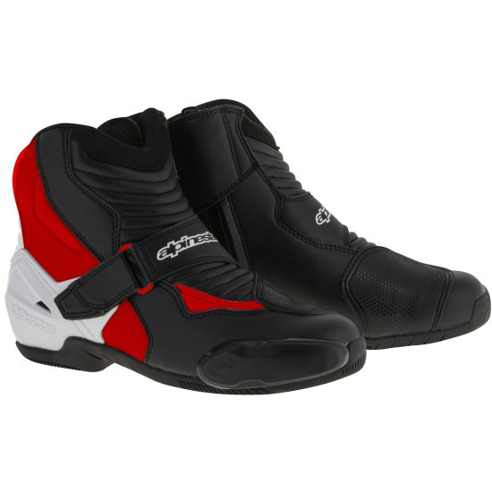 Botas ALPINESTARS SMX-1 R Black / White / Red