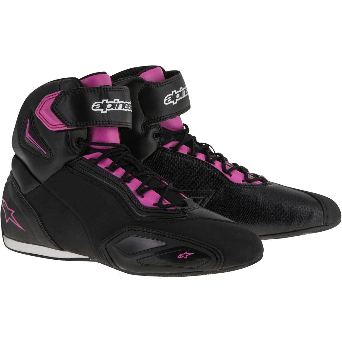 6c6a1d190cc32c ALPINESTARS Stella Faster-2 Lady Black   Fuchsia Boots · Motocard