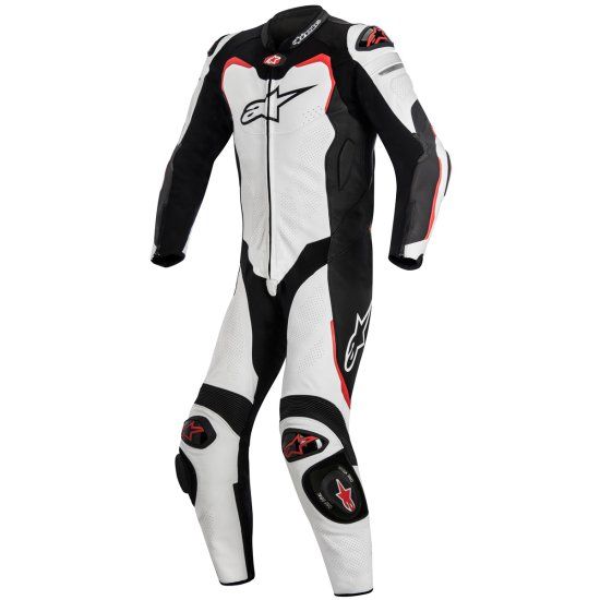 Traje / Mono ALPINESTARS GP Pro Professional for Tech-Air White / Black / Red