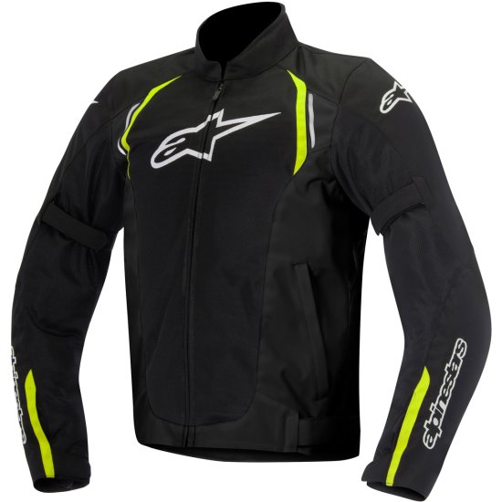 Blouson ALPINESTARS Ast Air Black / Yellow Fluo