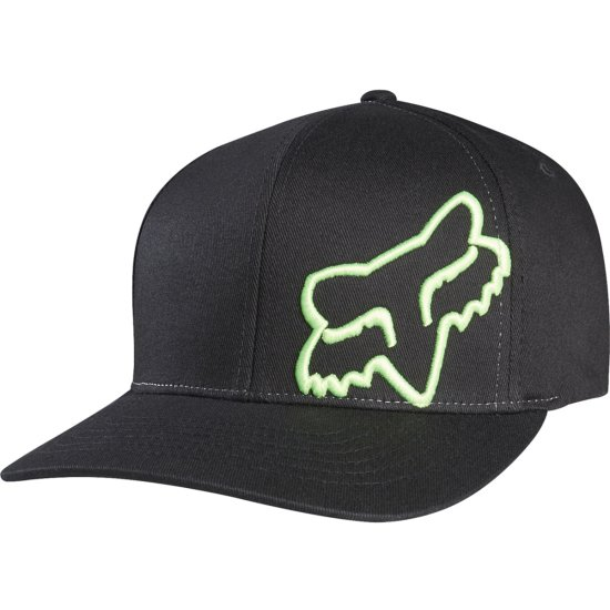 Gorra FOX Flex 45 Flexfit Black / Green