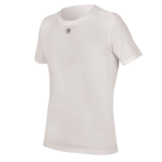 Intimo ENDURA Translite S/S Baselayer White