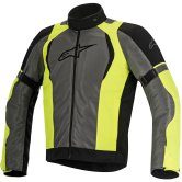 ALPINESTARS Amok Air Drystar Black / Dark Grey / Yellow Fluo