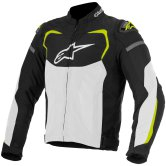 ALPINESTARS T-GP Pro Air Black / White / Yellow Fluo
