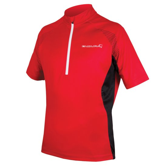 ENDURA Xtract II S/S Jersey Red Jersey