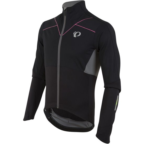 PEARL IZUMI P.R.O. Pursuit Softshell Black Jacket