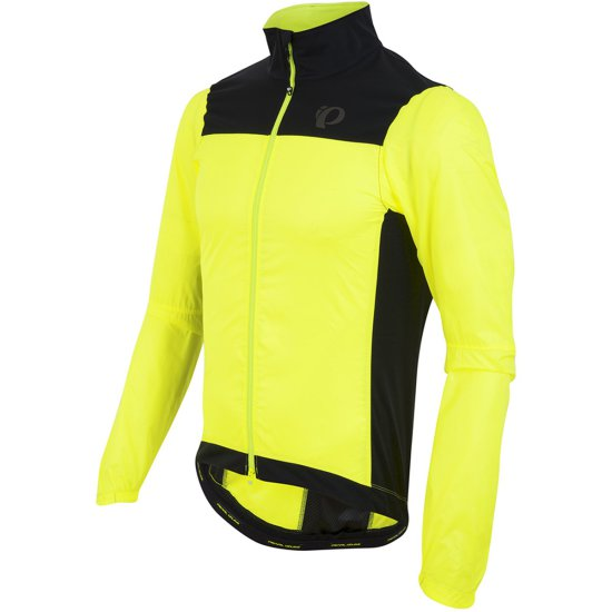 PEARL IZUMI P.R.O. Barrier Lite Screaming Yellow / Black Jacket