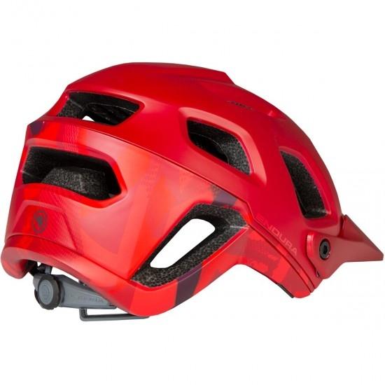 ENDURA SingleTrack II Rust Red Helmet