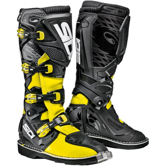 Botas SIDI X-3 Yellow Fluo / Black