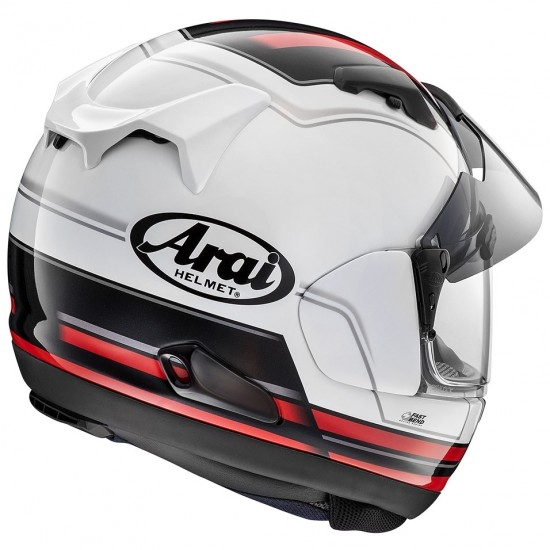Casco ARAI QV-Pro Stint Red