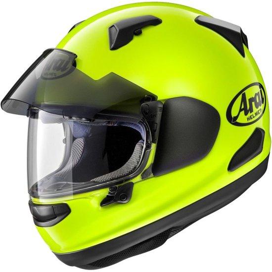 Capacete ARAI QV-Pro Yellow Fluo