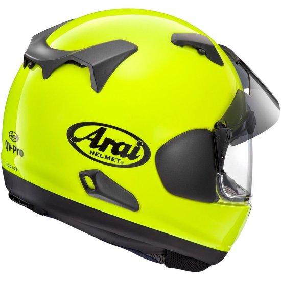 Helm ARAI QV-Pro Yellow Fluo