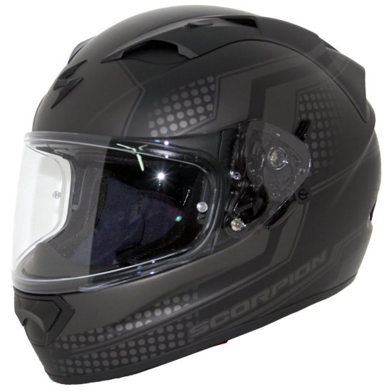 Casque SCORPION Exo-1200 Air Alias Matt Black / Silver
