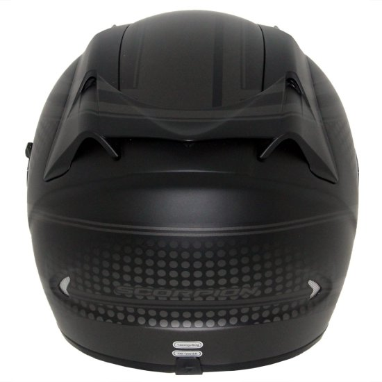 Capacete SCORPION Exo-1200 Air Alias Matt Black / Silver