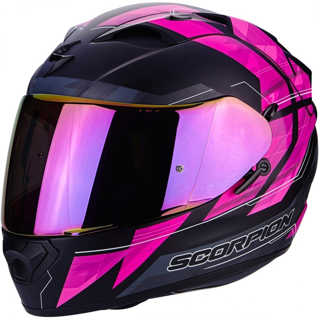 casco scorpion exo 1200 air hornet matt pink motocard. Black Bedroom Furniture Sets. Home Design Ideas
