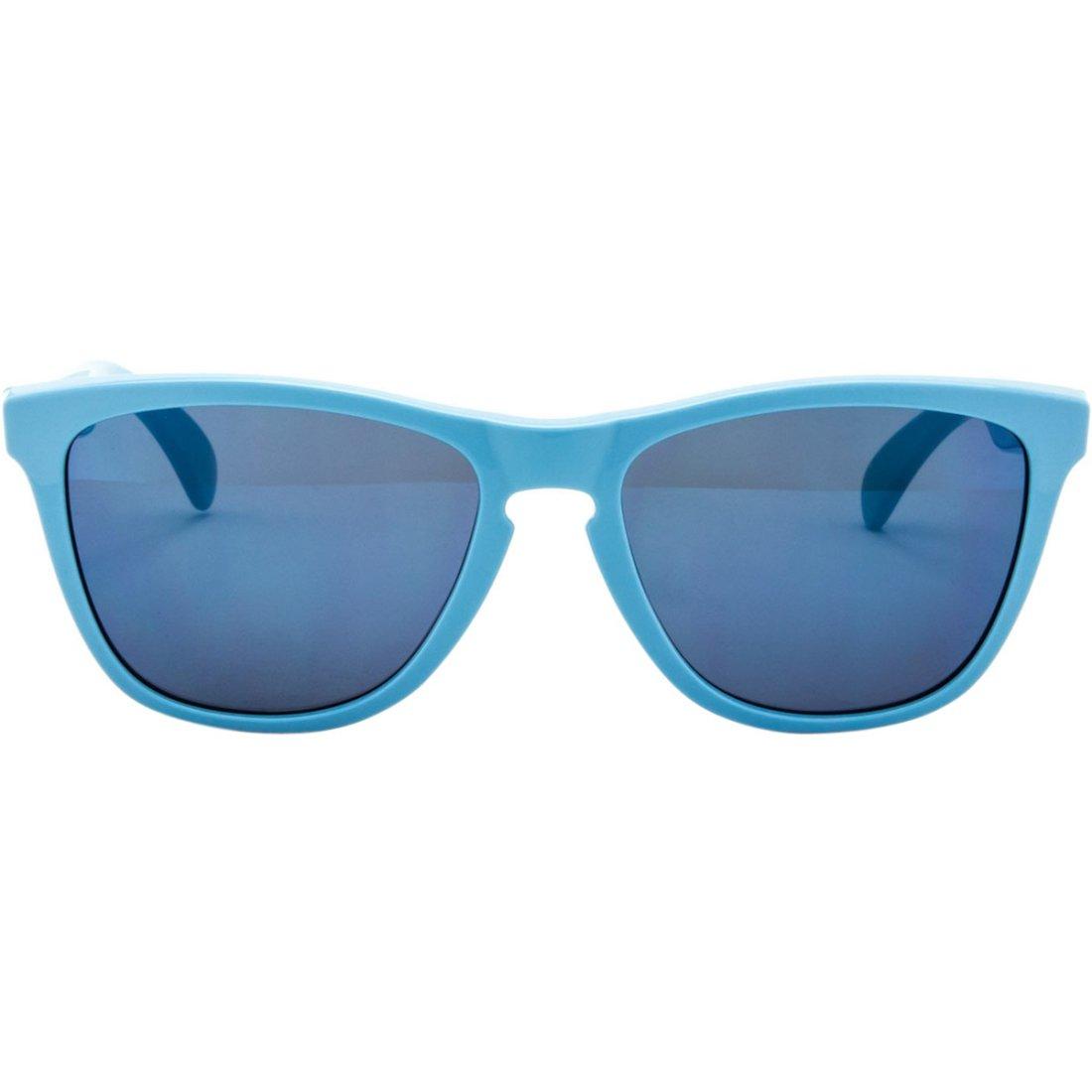 oakley frogskins blue ice iridium