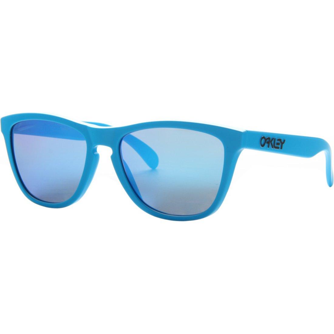 442eb1dcad OAKLEY Frogskins Matte Sky   Sapphire Iridium Sun glasses · Motocard