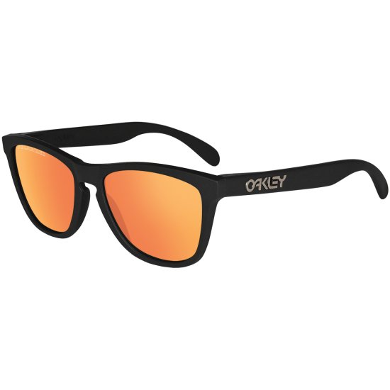 7c92ad988401c Óculos de sol OAKLEY Frogskins Polarized Matte Black   Ruby Iridium  Polarized