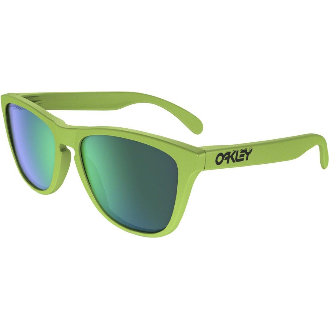 Oakley Brille Frogskins - Matte Fern Jade Iridium Polarized YcckXCn