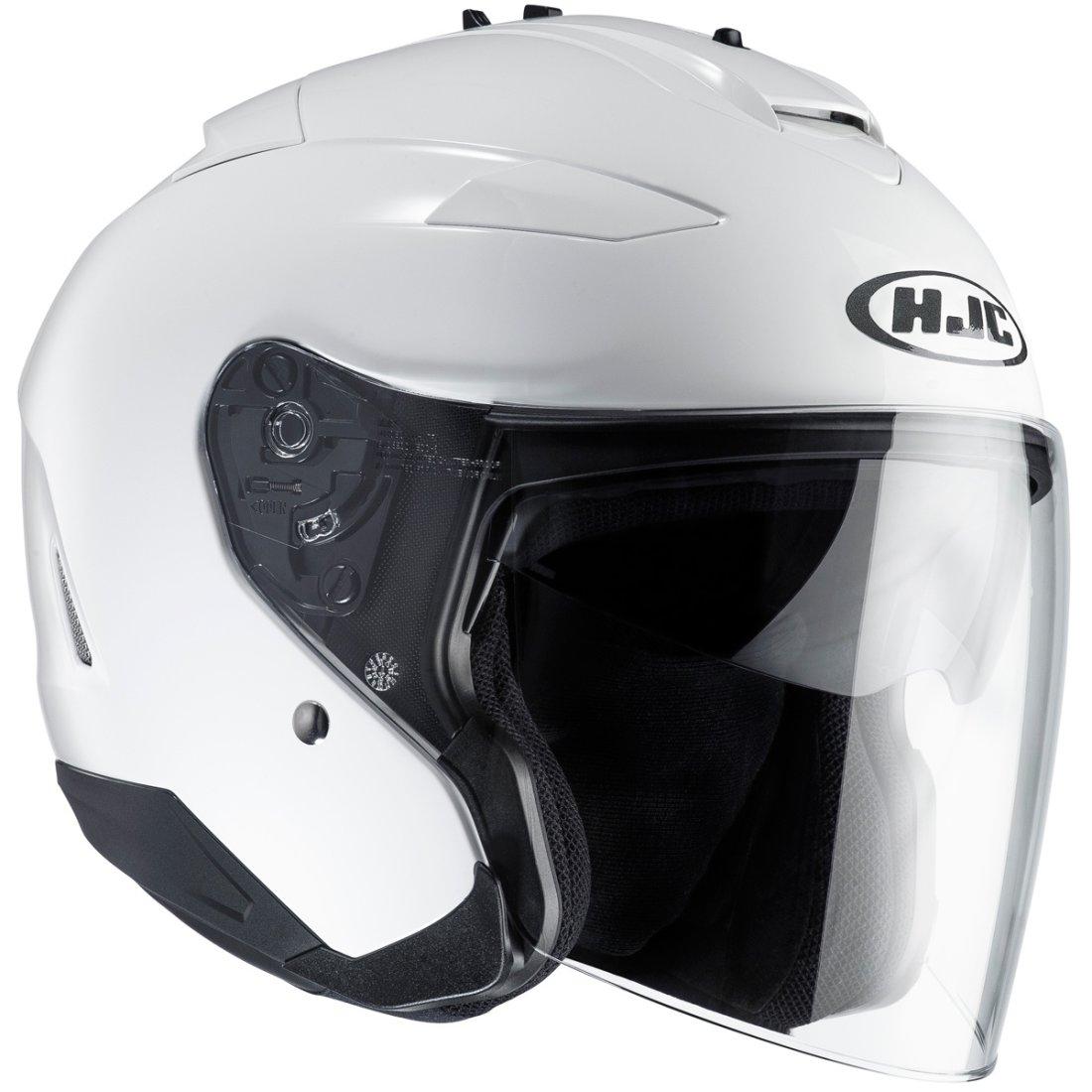 hjc is 33 ii white helmet motocard. Black Bedroom Furniture Sets. Home Design Ideas