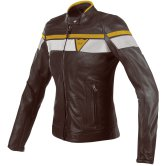 DAINESE Blackjack Lady Dark-Brown / White / Gold
