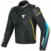 DAINESE Super Rider D-Dry Black / Fire-Blue / Fluo-Yellow