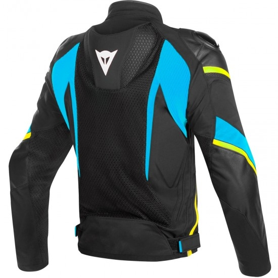 DAINESE Super Rider D-Dry Black / Fire-Blue / Fluo-Yellow Jacket