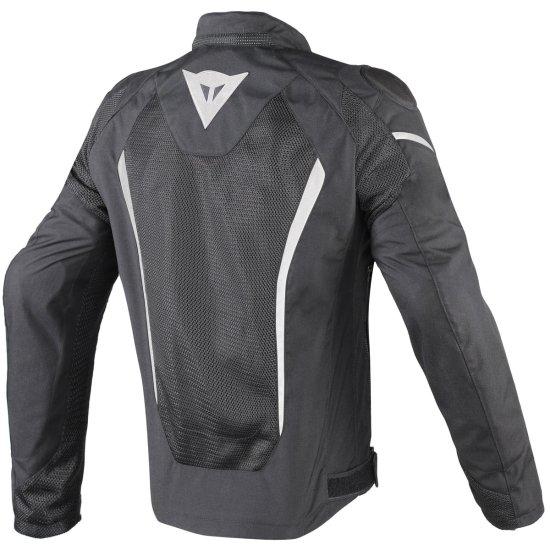 DAINESE Hyper Flux D-Dry Black / White Jacket