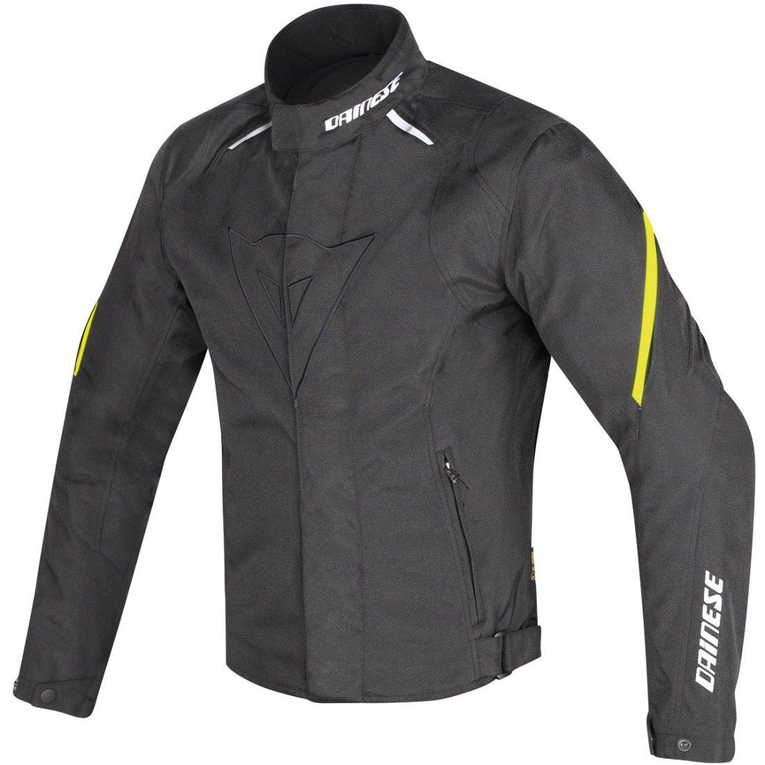 5c07278f16e Chaqueta DAINESE Laguna Seca D1 D-Dry Black   Yellow-Fluo · Motocard
