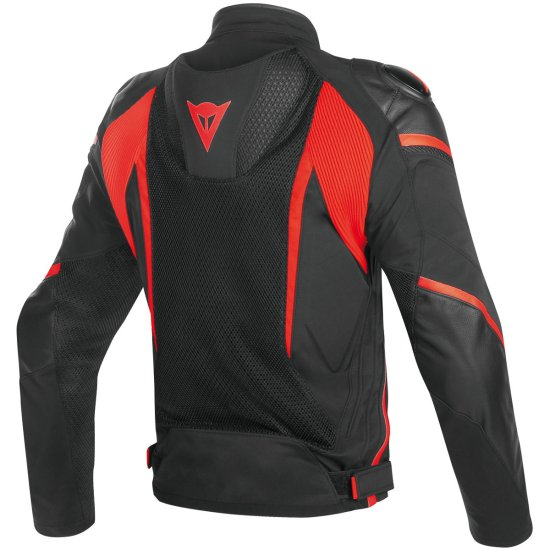 DAINESE Super Rider D-Dry Black / Red-Fluo Jacket