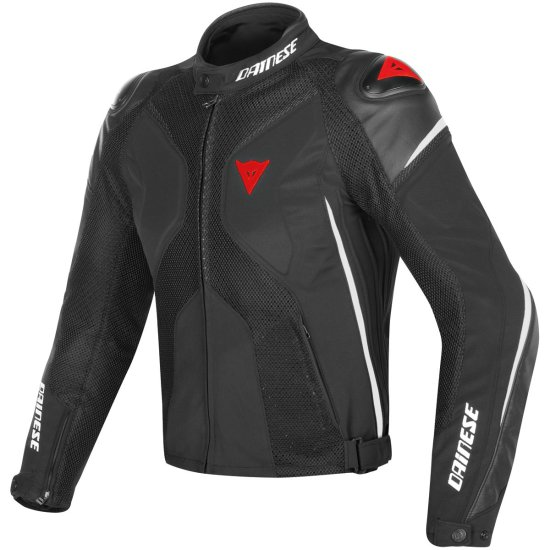 DAINESE Super Rider D-Dry Black / White / Red Jacket