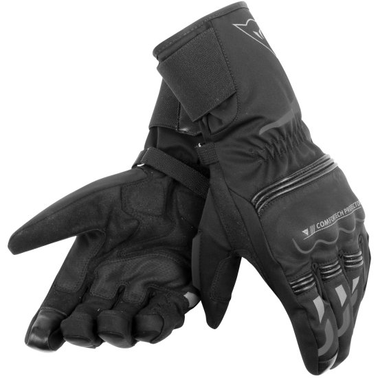 DAINESE Tempest D-Dry Long Black Gloves