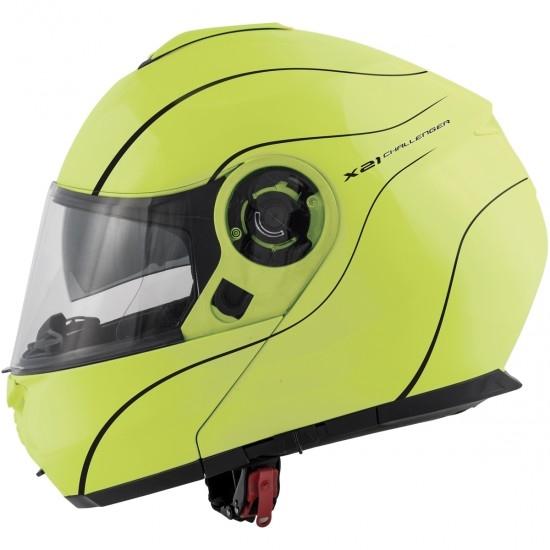 Casco GIVI X.21 Challenger Neon Yellow