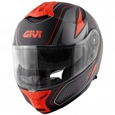 GIVI X.21 Challenger Shiver Matt Black / Titanium / Red