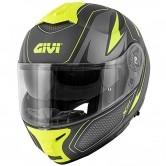 GIVI X.21 Challenger Shiver Matt Black / Titanium / Yellow