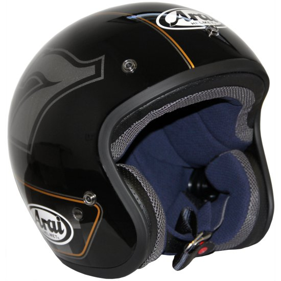 casque arai freeway classic caf racer motocard. Black Bedroom Furniture Sets. Home Design Ideas