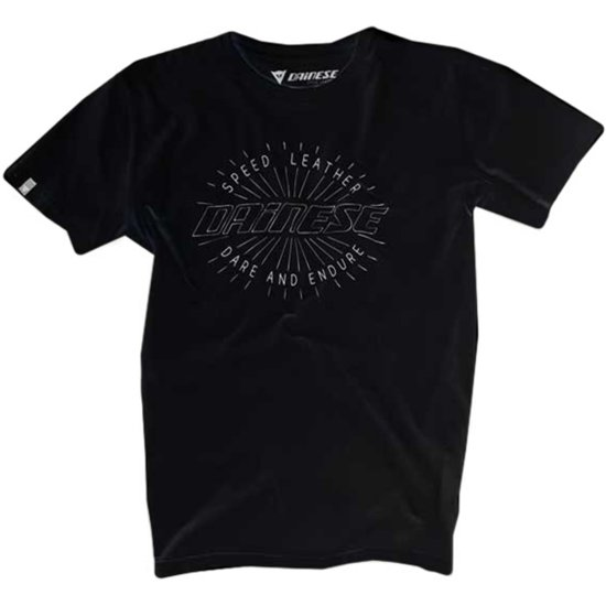 Camiseta DAINESE Rays Of Speed Black