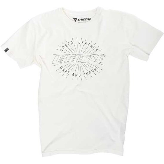 Camisola DAINESE Rays Of Speed Fog White