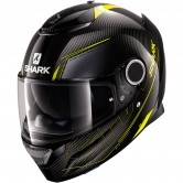 SHARK Spartan Carbon Silicium Carbon / Yellow / Anthracite