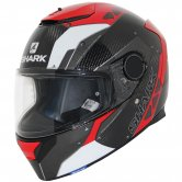 SHARK Spartan Carbon Bionic Carbon / Red / Anthracite