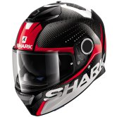 SHARK Spartan Carbon Cliff Carbon / Red / White